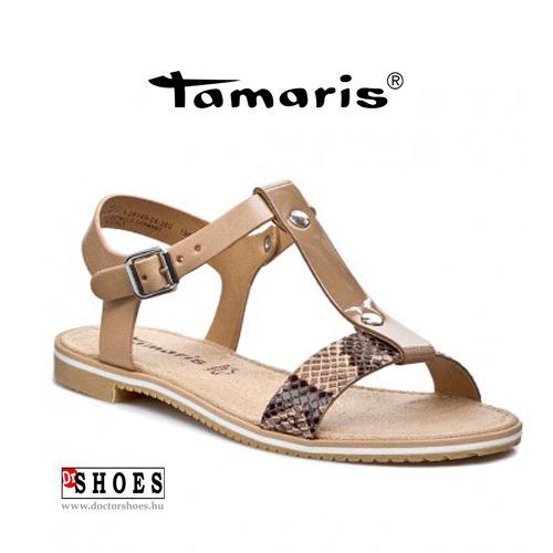 Tamaris Crok Beige  | DoctorShoes.hu