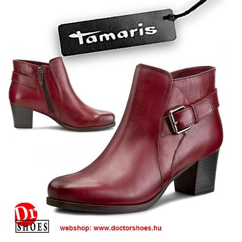 Tamaris Redax Bordó   DoctorShoes.hu