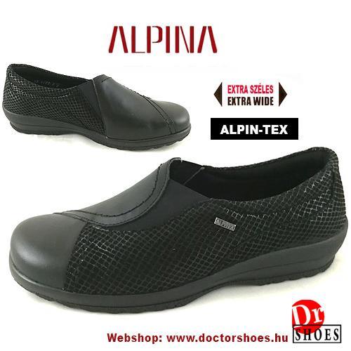 Alpina Wita Black   DoctorShoes.hu