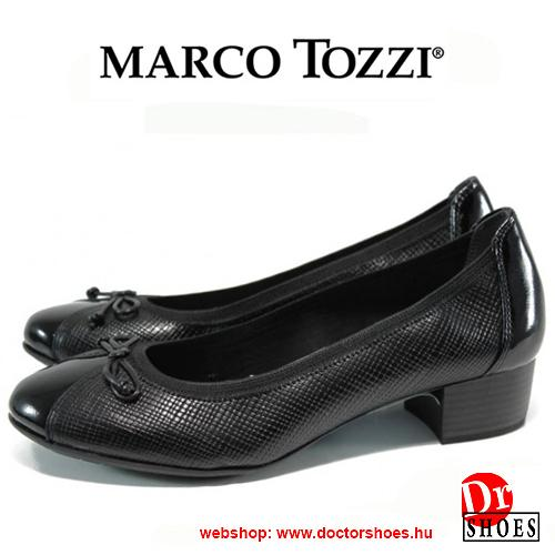 Marco Tozzi Korn Black | DoctorShoes.hu