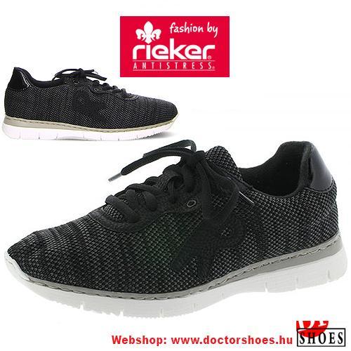 Rieker Knit Black | DoctorShoes.hu