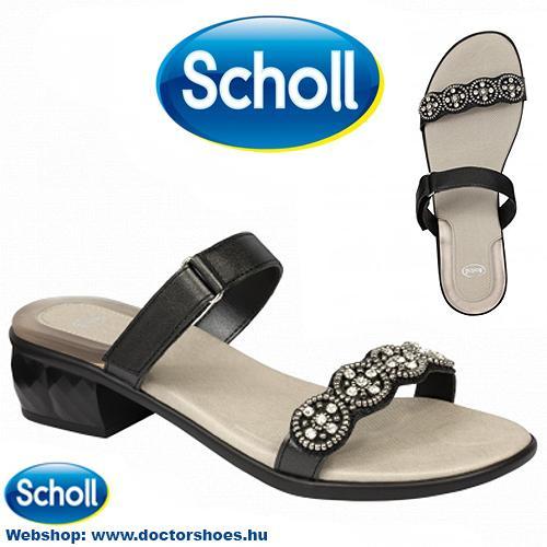 Scholl Euribia Black | DoctorShoes.hu