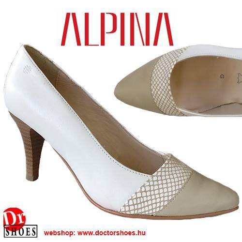 Alpina Lara BeigeWhite | DoctorShoes.hu