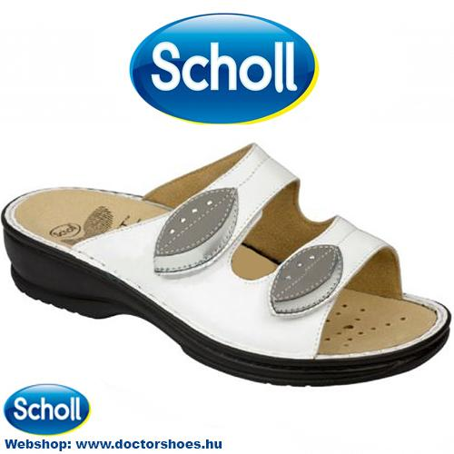 Scholl Cleodora white | DoctorShoes.hu