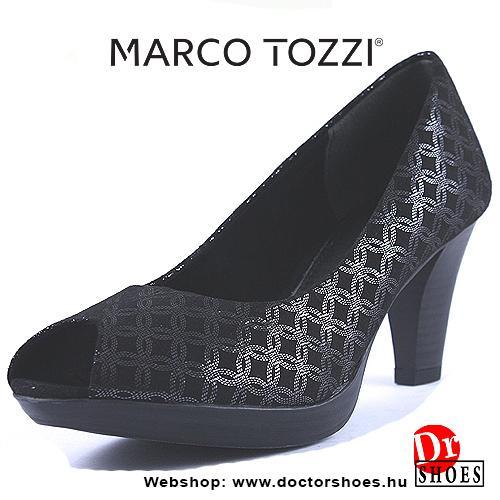 Marco Tozzi Metic Black | DoctorShoes.hu