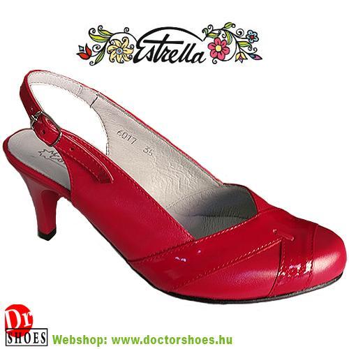Estrella Mesy Red | DoctorShoes.hu