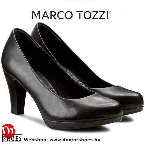 Marco Tozzi Drop Black | DoctorShoes.hu