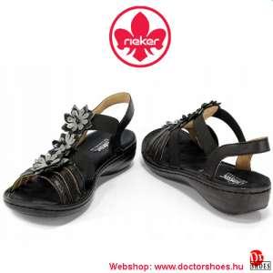 Rieker Bappa Black | DoctorShoes.hu