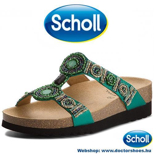 Scholl New Bogota Zöld   DoctorShoes.hu