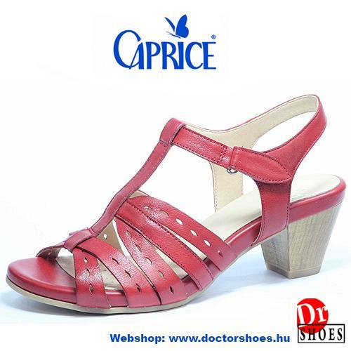 Caprice Zenta Red   DoctorShoes.hu