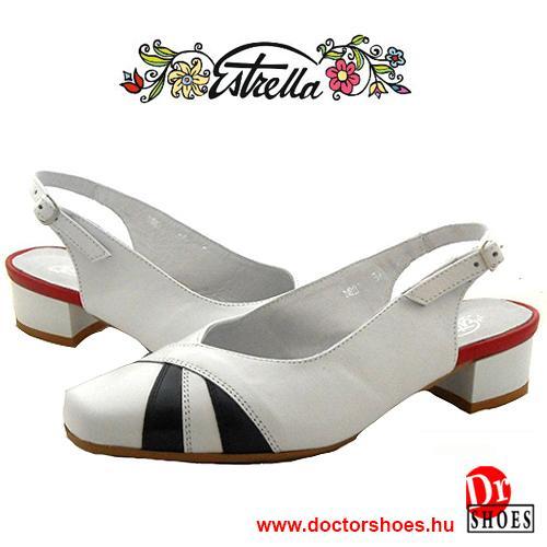 Estrella Ivet Fehér | DoctorShoes.hu
