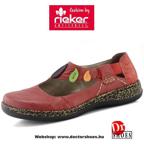 Rieker Salke Red | DoctorShoes.hu