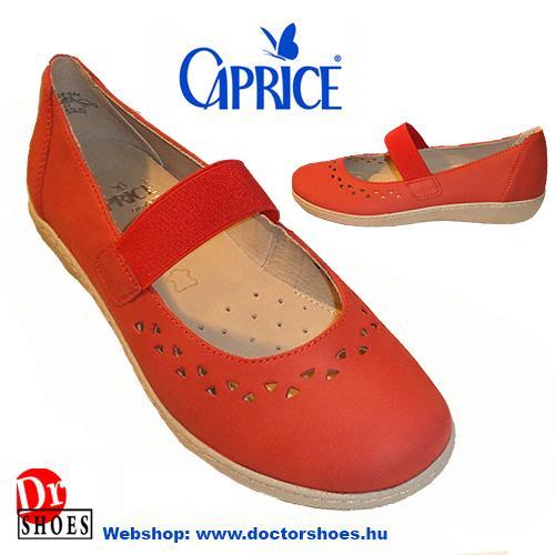 Caprice Fess Red | DoctorShoes.hu