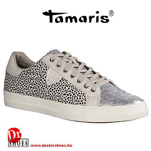 Tamaris Dots White   DoctorShoes.hu