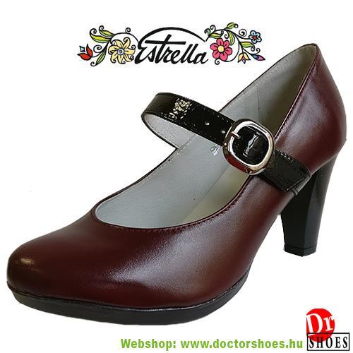 Estrella Irin Bordó   DoctorShoes.hu