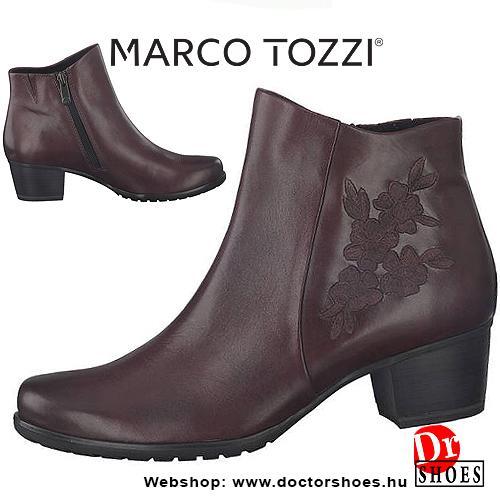 Marco Tozzi Moda Bordó | DoctorShoes.hu
