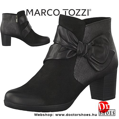Marco Tozzi Pane Black | DoctorShoes.hu