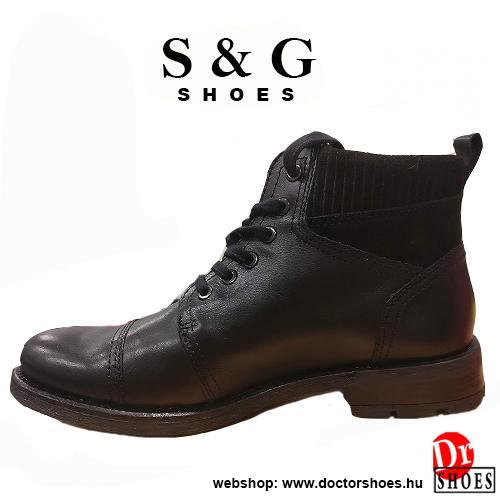 S&G Trian Black | DoctorShoes.hu