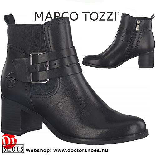 Marco Tozzi Denver Black | DoctorShoes.hu