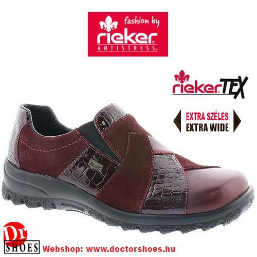 Rieker BOBA red   DoctorShoes.hu
