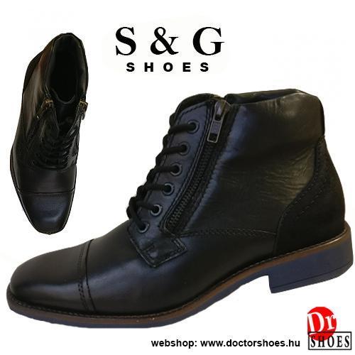 S&G Tonk Black | DoctorShoes.hu