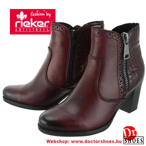 Rieker Reda Bordó | DoctorShoes.hu