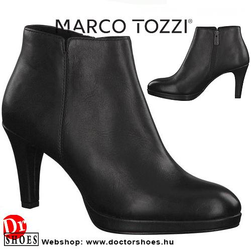 Marco Tozzi Inola Black   DoctorShoes.hu