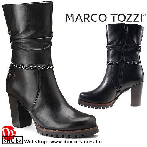 Marco Tozzi Dewy Black   DoctorShoes.hu