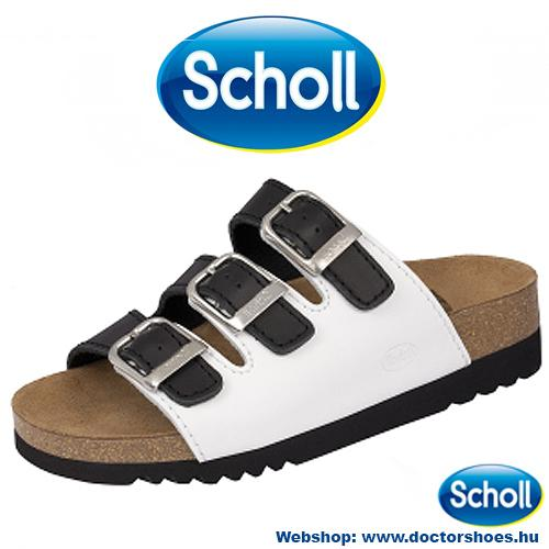 Scholl Rio Black-Whie | DoctorShoes.hu