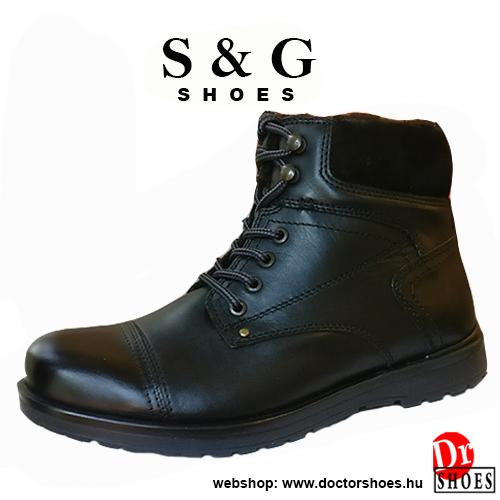 S&G Harvey Black | DoctorShoes.hu