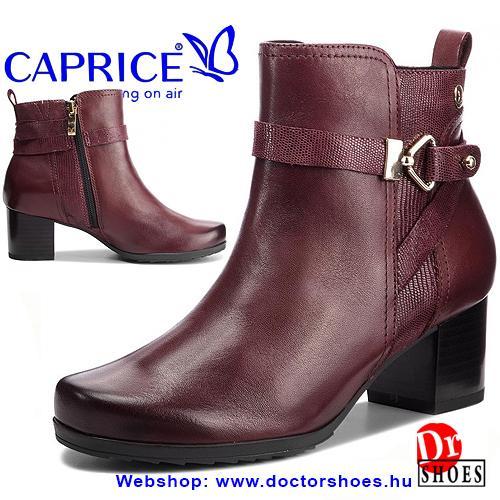 Caprice Dreb Bordó | DoctorShoes.hu