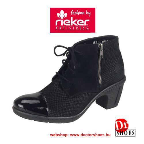 Rieker Luxa Black | DoctorShoes.hu