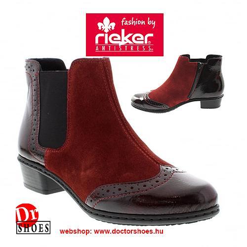 Rieker Royal Bordó | DoctorShoes.hu