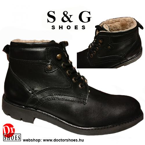 S&G West Black | DoctorShoes.hu