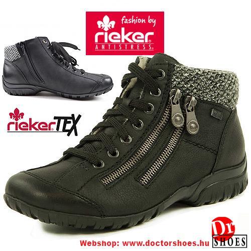 Rieker PIRA black   DoctorShoes.hu