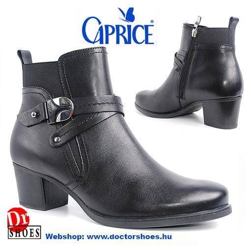 Caprice Rippe Black | DoctorShoes.hu