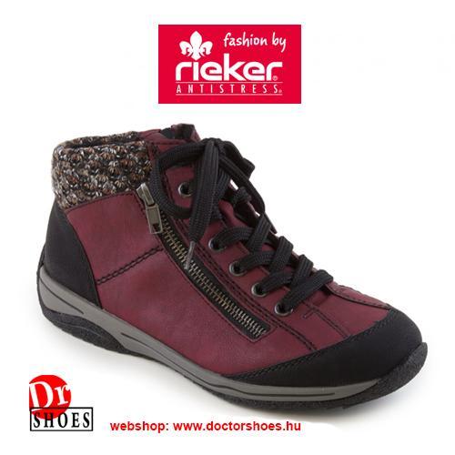 Rieker Lopar Bordó | DoctorShoes.hu