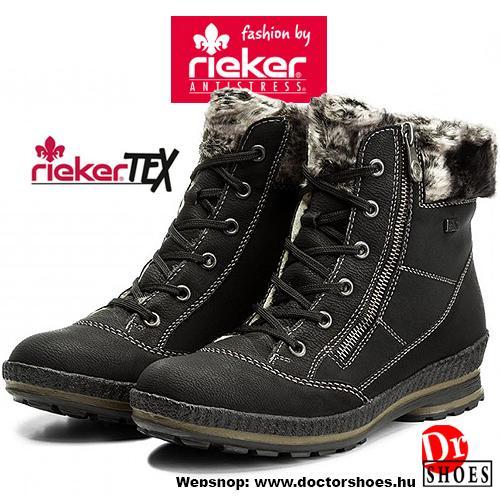 Rieker Saba Black   DoctorShoes.hu