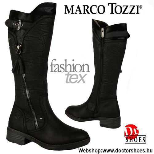 Marco Tozzi Zola Black | DoctorShoes.hu