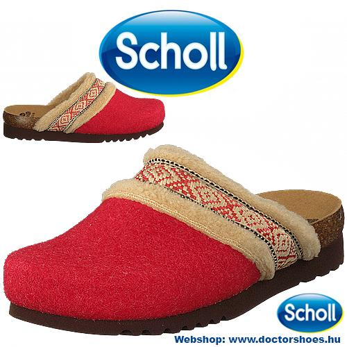 Scholl Maya Red | DoctorShoes.hu