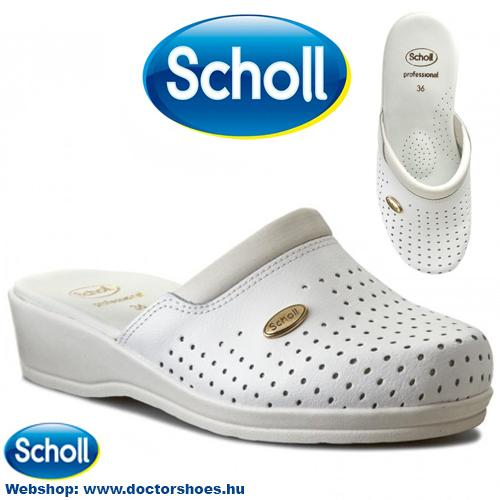 Scholl Clog White | DoctorShoes.hu
