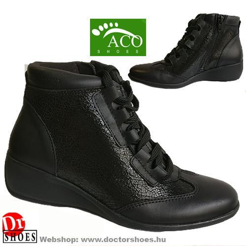 ACO Rosan Black   DoctorShoes.hu