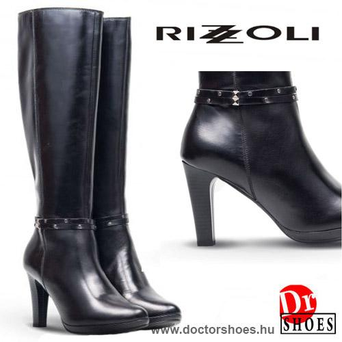 Rizzoli Gaucho Black | DoctorShoes.hu