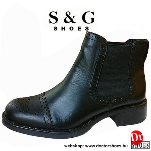 S&G Meex Black | DoctorShoes.hu