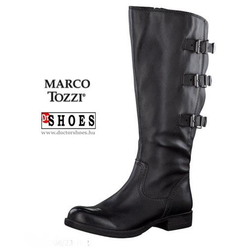 Marco Tozzi Terry Black | DoctorShoes.hu
