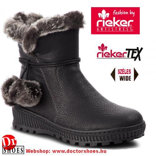 Rieker Woma Black | DoctorShoes.hu