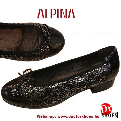 Alpina Pyth Black | DoctorShoes.hu
