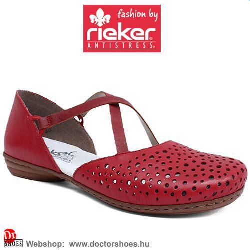 Rieker Nica Red | DoctorShoes.hu