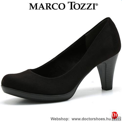 Marco Tozzi Sken Black | DoctorShoes.hu