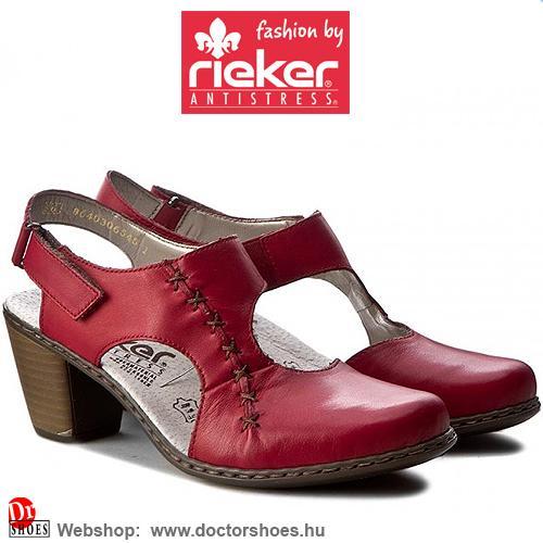 Rieker Rime Red | DoctorShoes.hu
